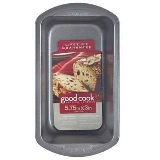 "Good Cook 04024 Non-stick Loaf Baking Pan, Mini, 5.75"" X 3"""