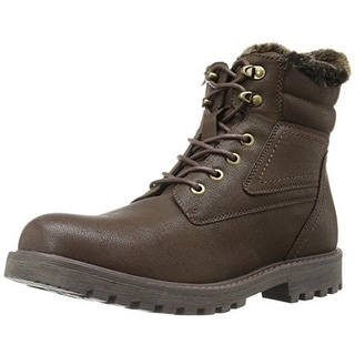 GBX Mens Lorcan Faux Leather Lined Winter Boots - 12 medium (d)