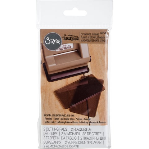 Sizzix Sidekick Cutting Pads 1 Pair-Smokey Gray