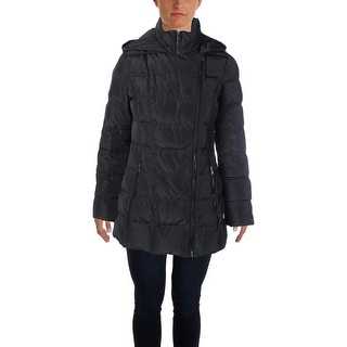 Jessica Simpson Womens Puffer Coat Down Asymmetric
