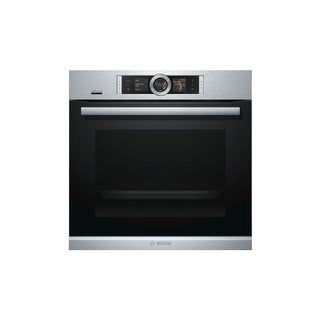 Bosch HBE5452 24 Inch Wide 2.5 Cu. Ft. Single Electric Wall Oven with Home Conne