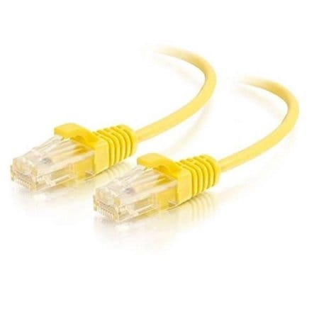 C2g - 1Ft Slim Cat6 Cable Utp Yellow