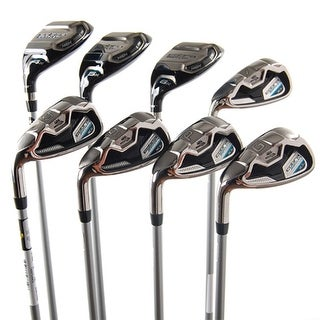 New Cobra Baffler XL Combo Iron Set Set 4h 5h 6h 7-PW,GW Senior LEFT HANDED