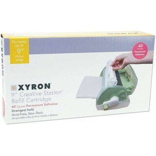 "Xyron 900 Adhesive Refill Cartridge-9""X40' Permanent"