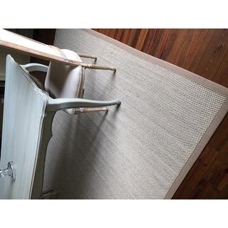 Safavieh Natural Fiber Pacific Marble/ Ivory Linen Sisal Rug - 8' x 10'