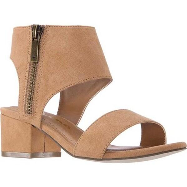 81eaa574e3d Shop Nina Girls  Rosalee Ankle Cuff Sandal Tan Microsuede - Free ...