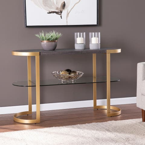 Silver Orchid Oslo Console Table