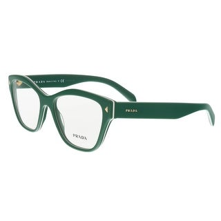 Prada PR 27SV UR11O1 Green Cat Eye Opticals - 53-17-140