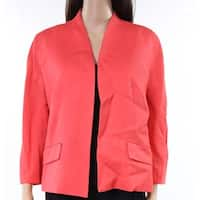 Classiques Entier Womens Seamed Open Front Jacket $279