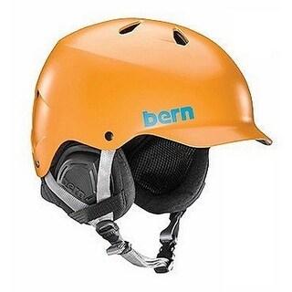 Bern Mens Watts, Satin Orange, S/M