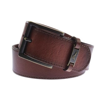 Tommy Bahama Mens Leather Buckle Casual Belt - 36