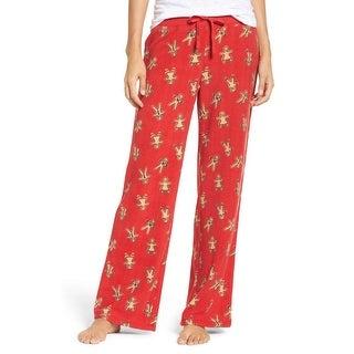 Make + Model NEW Red Women's Size XL Gingerbread Man Lounge Pants
