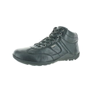 Geox Mens Compass Ankle Boots Leather Cushioned | Shopping The Best Deals on Boots