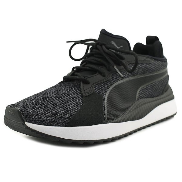 Puma Pacer Next Tw Knit Men Round Toe Synthetic Black Sneakers