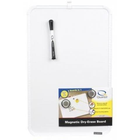 "Quartet MHOW1117 Magnetic Dry Erase Board, 11""x17"""