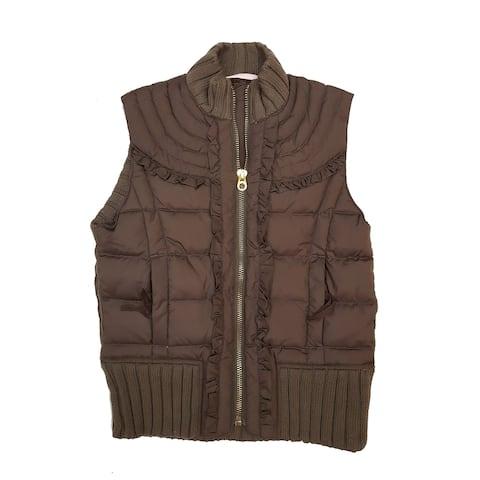 Juicy Couture Vest, Brown, 14