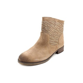 Carlos by Carlos Santana Alton Women Round Toe Suede Brown Ankle Boot