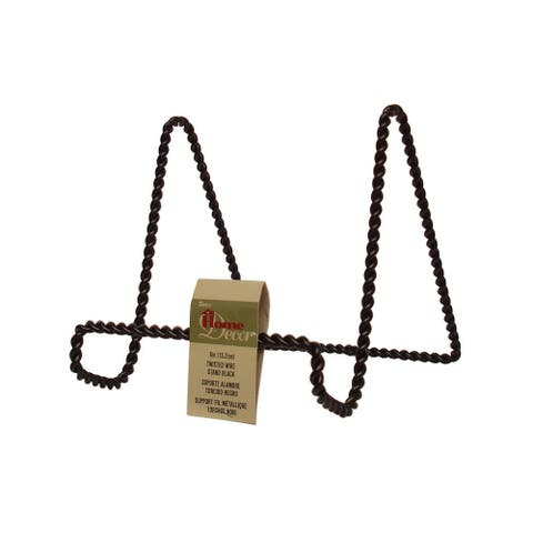 Darice Black Twisted Wire Stand 6""