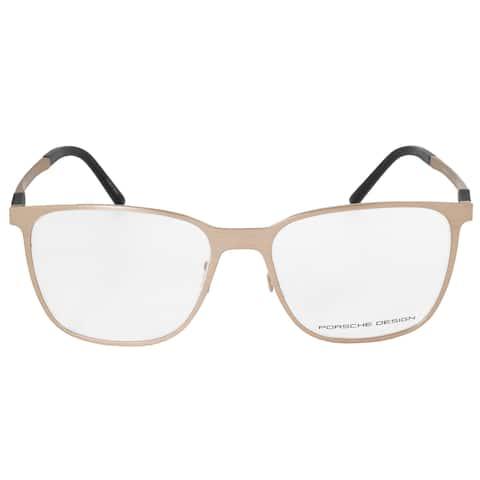 Porsche Design P8275 B Square Matte Gold Eyeglass Frames