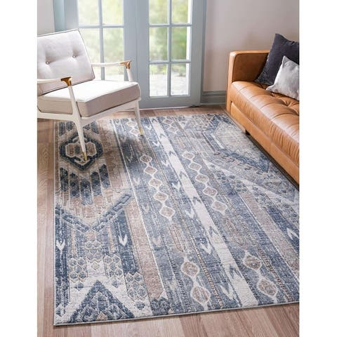 Porch & Den Remudo Tribal Stripe Area Rug