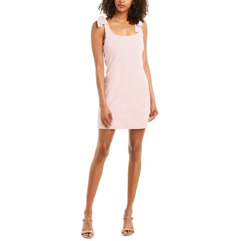 Wayf Tie-Shoulder Mini Dress