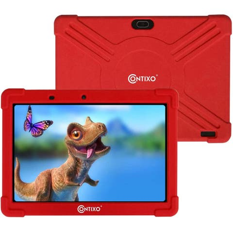 """Contixo 10"""" Kids Tablet K101A Red"""