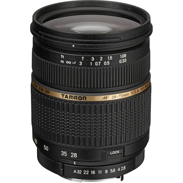 Tamron Zoom Wide Angle-Telephoto AF 28-75mm f/2.8 XR Di LD Aspherical (IF) Autofocus Lens for Pentax AF (International Model)