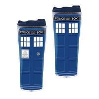 Doctor Who TARDIS 12oz. Insulated Travel Mug - Multi