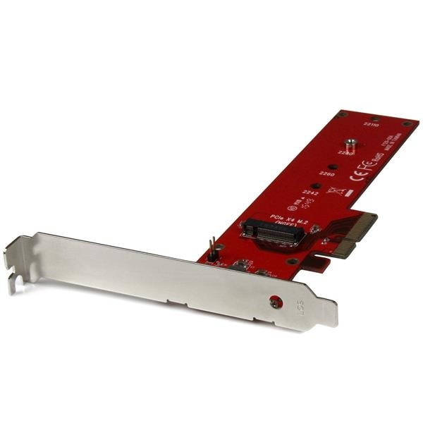 Startech - Pex4m2e1 X4 Pcie To M.2 Pcie Ssd Adapternm.2 Ngff Ssd Nvme Achi Adapter