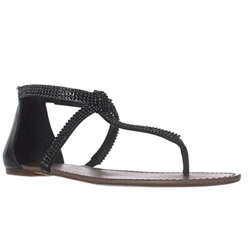 Jessica Simpson Garreth Flat Sandals - Black