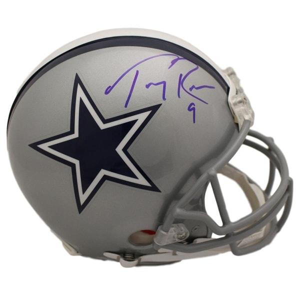 a1909729797 Shop Tony Romo Autographed Dallas Cowboys Proline Helmet BAS - Free ...