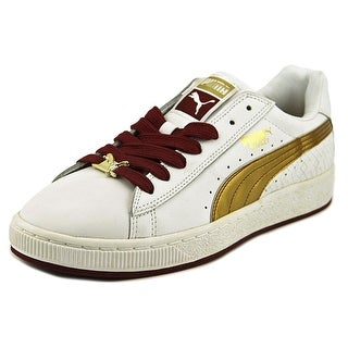 Puma Basket II Sport Round Toe Leather Sneakers