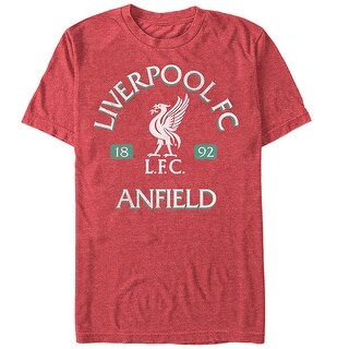 Liverpool Football Club Men's Anfield Logo T-Shirt