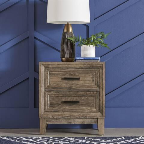 Ridgecrest Cobblestone 2-drawer Night Stand