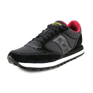 Saucony Jazz Original Men Round Toe Canvas Black Running Shoe