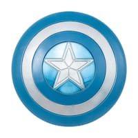 """24"""" Stealth Captain America Adult Costume Shield - Blue"""