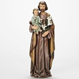 "18"" Saint Joseph and Child Jesus Religious Statue - N/A"