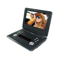 Sylvania SDVD1251-B-PDQ 12-Inch Swivel Screen Portable DVD Player  Manufacturer Refurbished