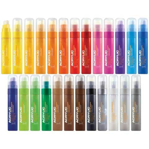 Montana Cans - Montana Acrylic Paint Marker - 15mm - Standard Nib - Shock Pink