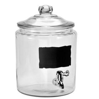 """Anchor Hocking 2 Gallon Heritage Hill Jar Hill Jar"""