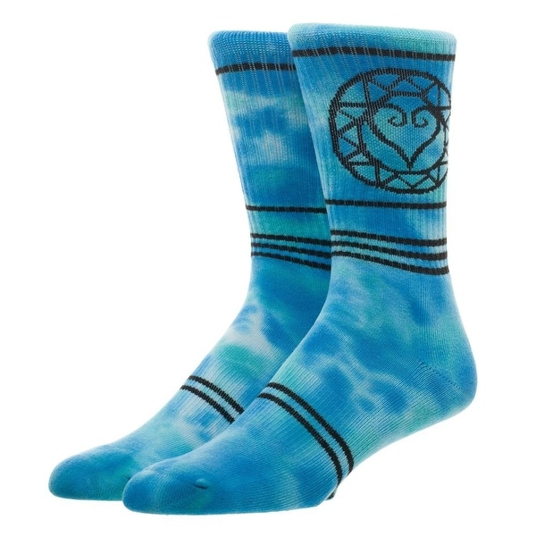 Kingdom Hearts Tie Dye Crew Socks, 10-13