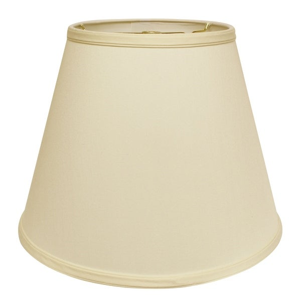 Cloth & Wire Slant Deep Empire Hardback Lampshade with Washer Fitter, Egg. Opens flyout.