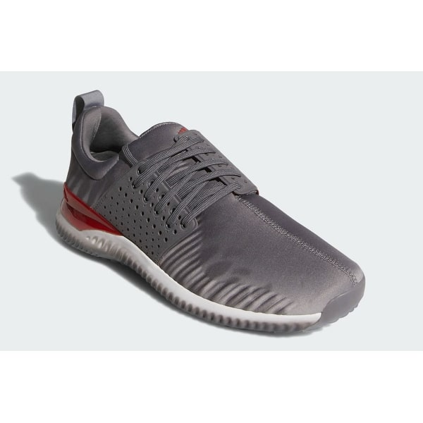 Shop New Men S Adidas Adicross Bounce Limited Edition Niuhi Shark Golf Shoes Granite Cloud White Light Solid Grey Ac8212 Overstock 28494827