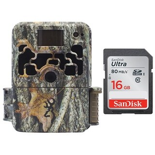 Browning DARK OPS HD 940 Micro Trail Camera (18MP) with 16GB Memory Card - Camouflage