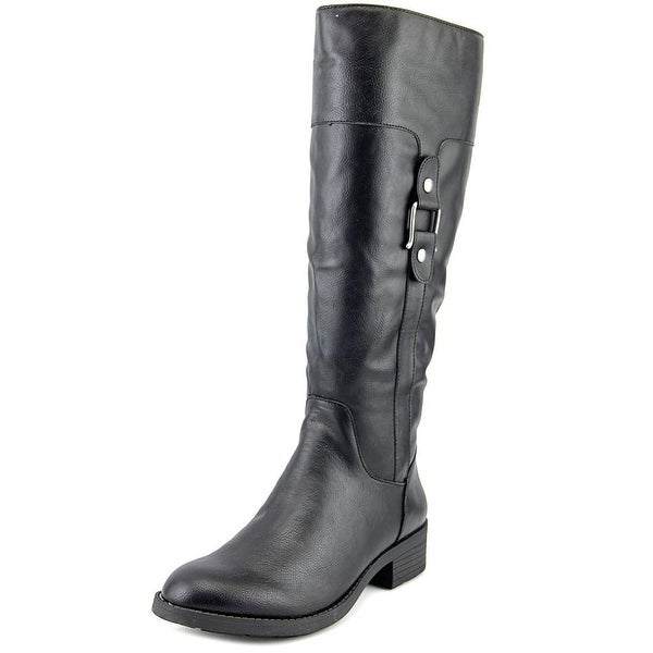 Style & Co Astaire Women Black Boots