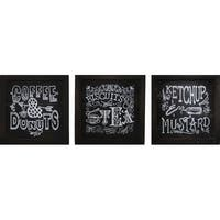 PTM Images 524642 Chalkboard-Look Kitchen Signs (Set of 3) - N/A