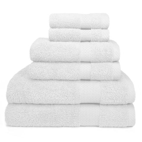 Hamilton 6 Piece Bath Towel Set - 6 Piece