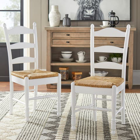 Simple Living Ladder back dining chair (Set of 2)