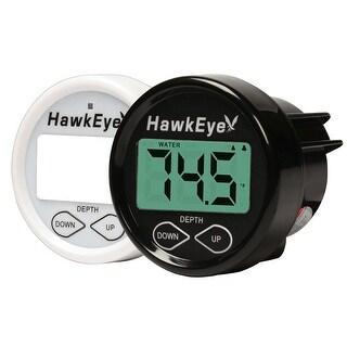 Hawkeye Digital Depth And Temp - Transom Mount - D10DX.01T