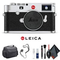 Leica M10 Digital Rangefinder Camera (Silver) Kit